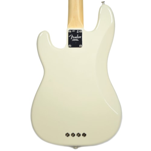 Fender American Pro Precision Bass MN Olympic White