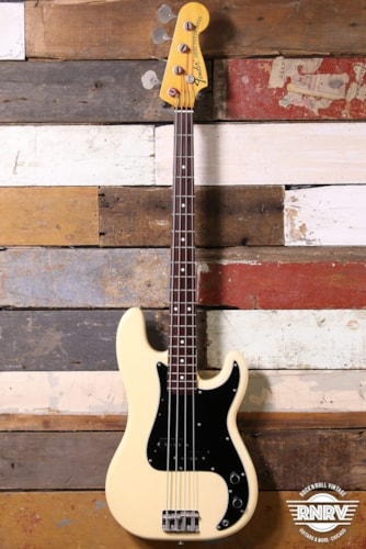 Fender Precision Bass White MIJ Crafted In Japan