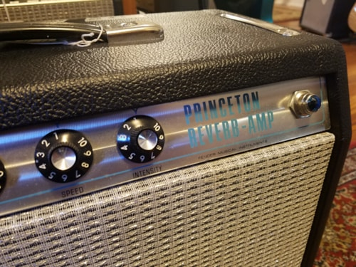 Fender Princeton Reverb Amp - Custom Made - Silverface