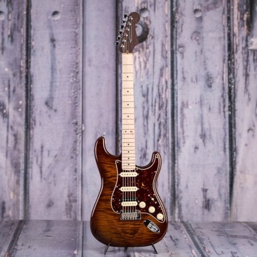 Fender Rarities Flame Maple Top Stratocaster, Golden Brown