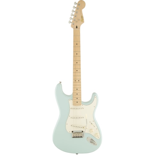 Fender Squier Deluxe Stratocaster Daphne Blue - Maple Brand New $299.99