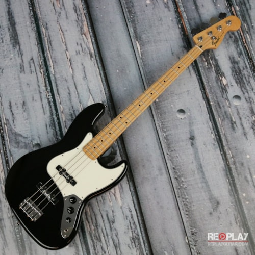 Fender Standard Jazz Bass (Black) Very Good $469.77