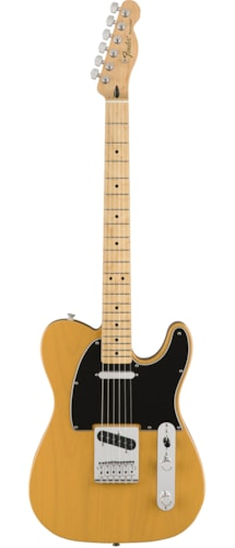 Fender Standard Telecaster Butterscotch Blonde - Maple Brand New