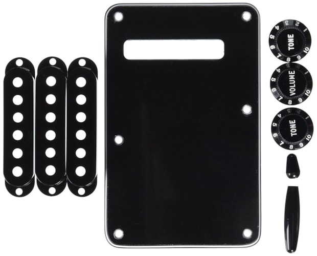 Fender STRATOCASTER ACCESSORY KITS - Black Brand New $19.99