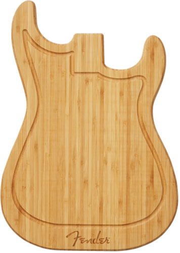 fender stratocaster cutting board natural music novelities aj s