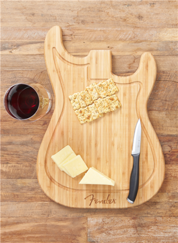Fender Stratocaster Cutting Board Natural, Brand New