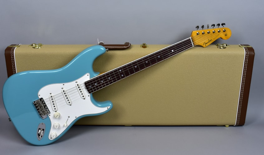 Fender®  Stratocaster® Eric Johnson Tropical Turquoise Electric Guita Tropical Turquoise, Mint, Original Hard, $1,695.00