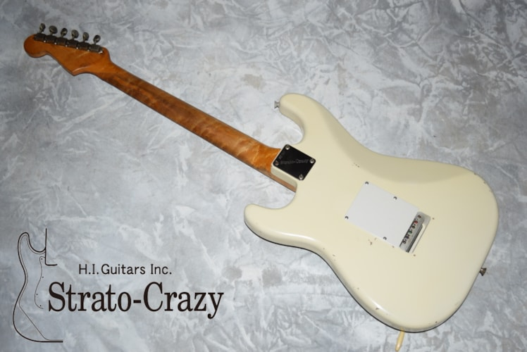 Fender Stratocaster Olympic White, Excellent, Hard, Call For Price!