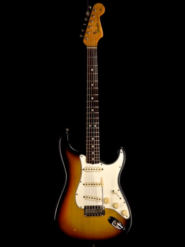 Fender Stratocaster Sunburst, Excellent, Original Hard, $13,995.00