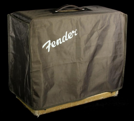 1956 Fender Used 1956 Fender Tremolux Combo Amplifier Tweed