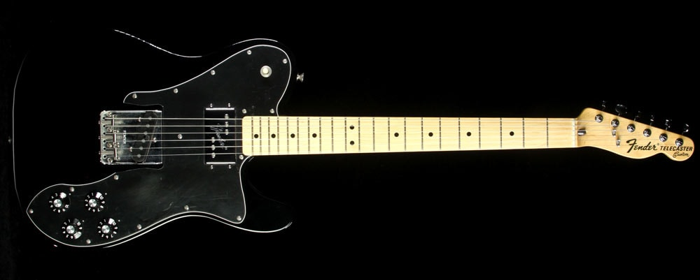 Fender Used 2005 Fender Classic Series '72 Telecaster Custom Electric Guitar Black Black, Excellent, $699.00