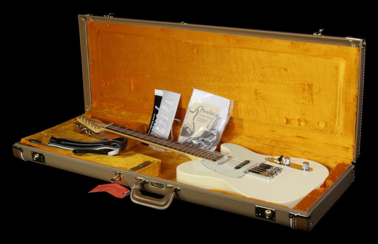 Fender Used Fender American Vintage Hot Rod '60s Telecaster Electric Guitar White Olympic White, Excellent, $1,549.00