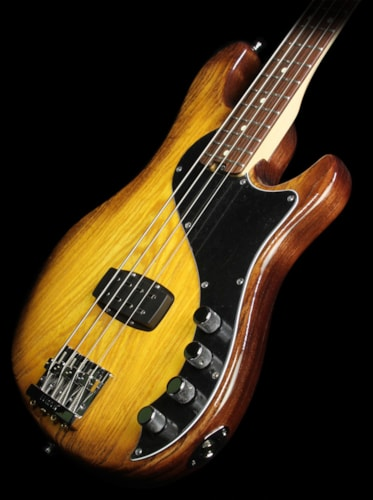 Fender Used Fender American Deluxe Dimension Bass Electric Bass Guitar Violin Burst Violin Burst, Excellent, $939.00