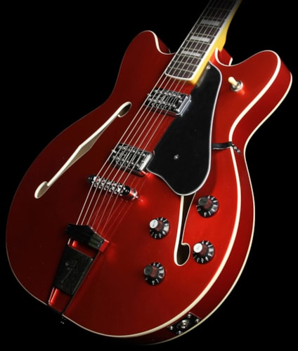 Fender Used Fender Modern Player Coronado Hollowbody Electric Guitar Candy Apple Red Candy Apple Red, $649.00