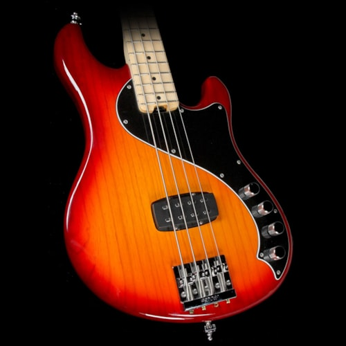 Fender Used Fender USA Dimension Bass IV Electric Bass Guitar Aged Cherry Burst Excellent, $949.00