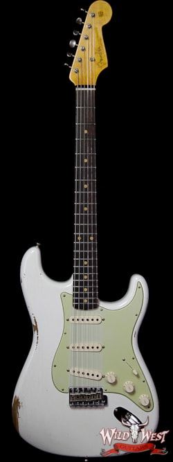 2019 Fender Custom Shop 1961 Stratocaster Relic AAA Rosewood Slab Board