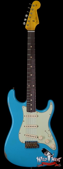 2020 Fender Custom Shop 1962 Stratocaster Relic AAA Rosewood Board