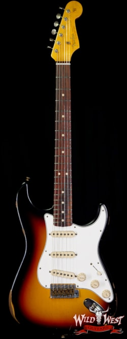 2020 Fender Custom Shop 1963 Stratocaster Relic AAA Rosewood Board