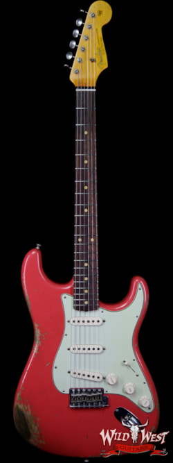 2019 Fender Custom Shop 1963 Stratocaster Heavy Relic AAA Rosewood Board