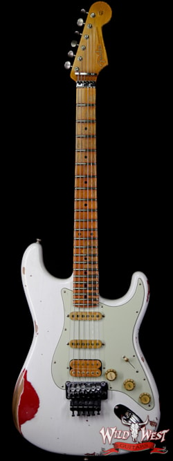 Fender Custom Shop White Lightning Floyd Rose HSS Stratocaster