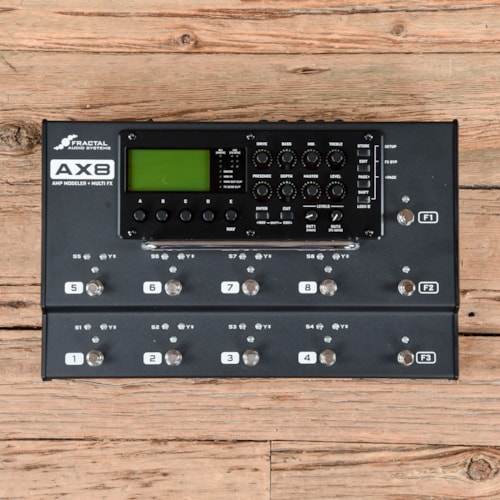 Fractal Audio Systems AX8 Amp Modeler/Multi-FX Processor USED