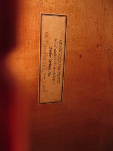 Francesco Moretti Cello Near Mint, Original Hard, $2,500.00
