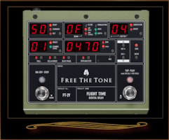 Free The Tone Flight Time FT-2Y Digital Delay Version 2