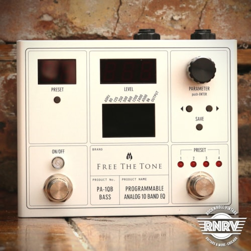 Free The Tone PA10QB Programmable 10 Band Analog EQ Brand New, $380.00
