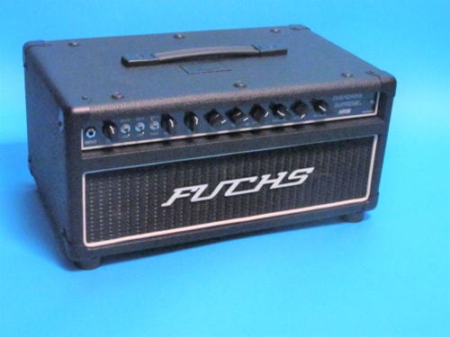 Fuchs Head Only Overdrive Supreme HRM 100 Watt with Artist Series Footpedal  Black, Mint