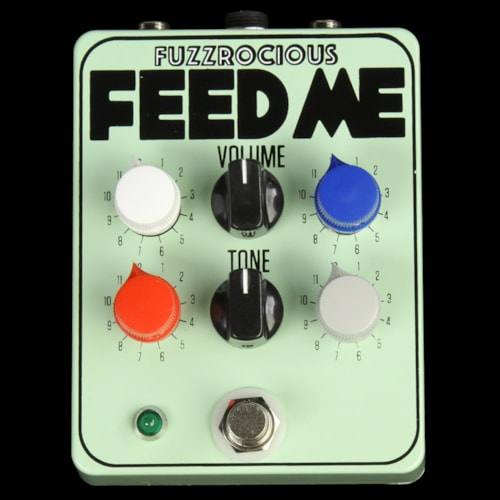 Fuzzrocious Feed Me Pre-Amp & Tone Shaper Effects Pedal
