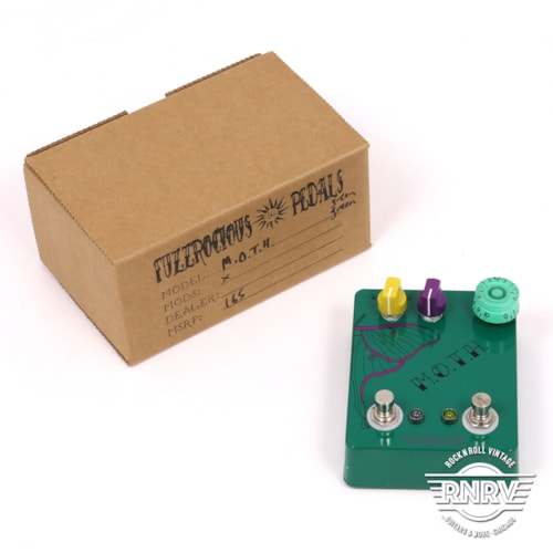 Fuzzrocious MOTH - Green Excellent, $129.00