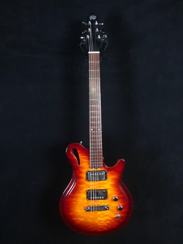 Gadow Custom Hollowbody Cherry Sunburst