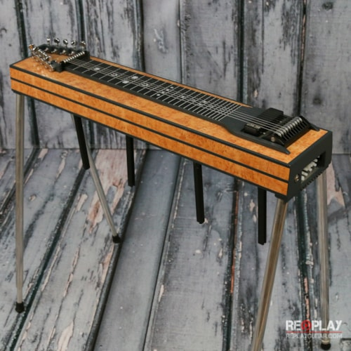 gfi gfi expo iii 10 string pedal steel guitars lap pedal table replay guitar exchange. Black Bedroom Furniture Sets. Home Design Ideas