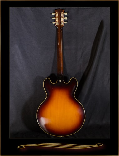 Gibson 1959 ES-345 Reissue Historic Burst, Mint, Original Hard, $3,495.00