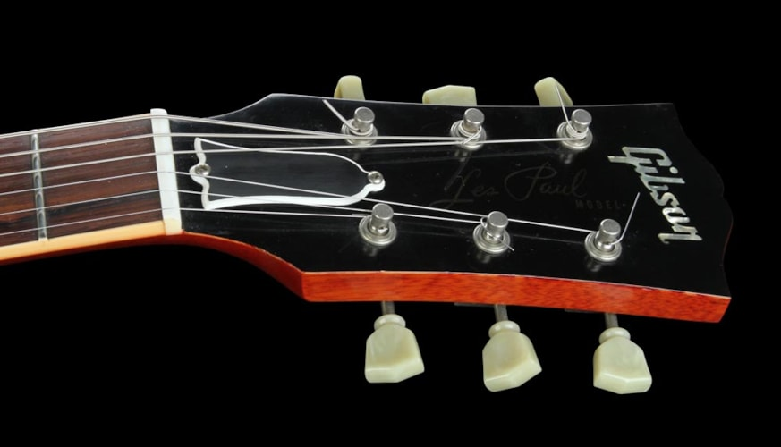 """Gibson 2005 Gibson Custom Shop """"Custom Authentic"""" '59 Les Paul Washed Cherry Washed Cherry, Excellent, $3,599.00"""
