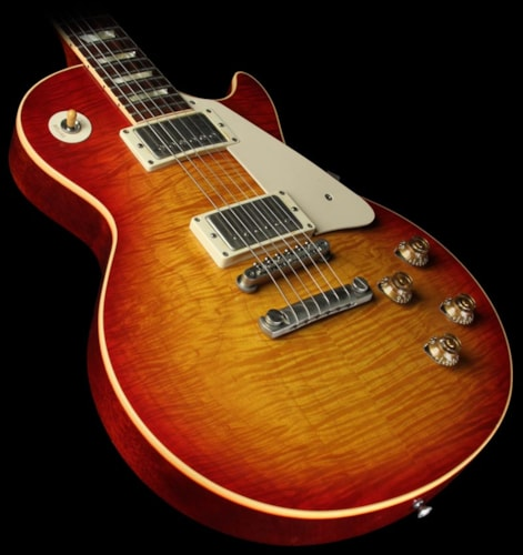 "Gibson 2005 Gibson Custom Shop ""Custom Authentic"" '59 Les Paul Washed Cherry Washed Cherry, Excellent, $3,599.00"