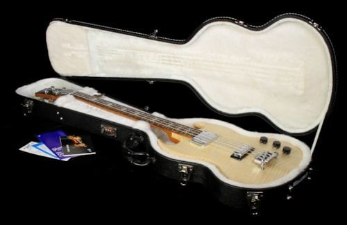 Gibson 2008 Gibson SG Supreme Electric Bass Guitar Natural Natural, Excellent, $1,499.00