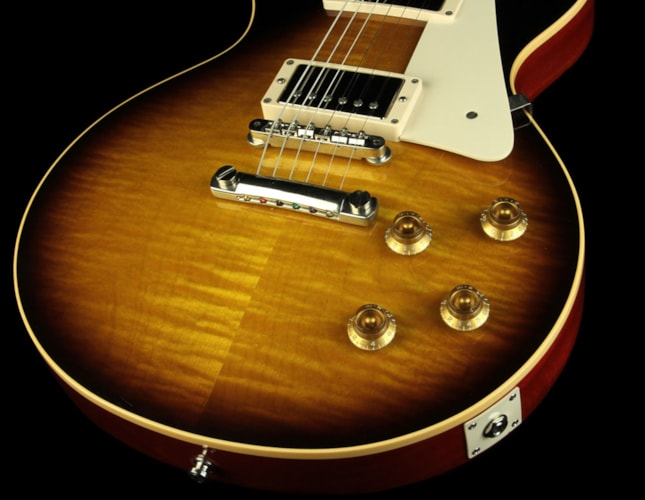 "Gibson 2009 Gibson Custom 50th Anniversary ""Gold Book"" '59 Les Paul Guitar Darkburst Excellent, $5,499.00"