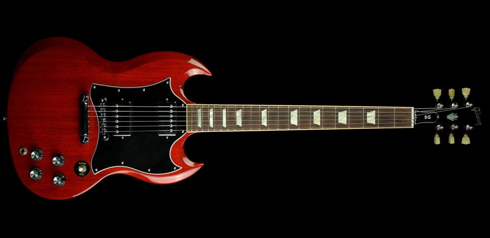 Gibson 2009 Gibson SG Standard Electric Guitar Mahogany Rosewood FB Heritage Cherry Heritage Cherry, Excellent, $899.00