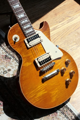 MINT 1959 Gibson Collector's Choice CC #4 SANDY '59 Les Paul VOS R9 Reissue Flametop