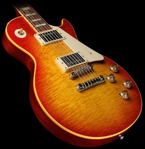 Gibson Custom Shop '59 Les Paul Historic Electric Guitar Washed Cherry Washed Cherry, Excellent, $4,099.00