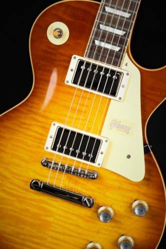 Gibson Custom Shop '60 Les Paul Standard Gloss - Royal Teaburst  (1960 reissue)