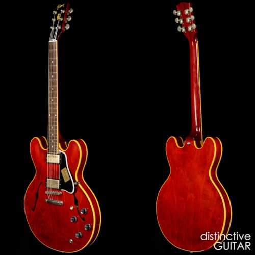 Gibson Custom Shop '61 ES-335 Nashville Stained Cherry Relic, Mint, $3,999.00