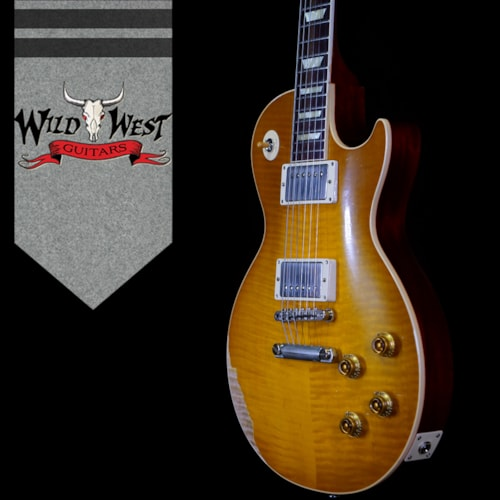 2020 Gibson Custom Shop M2M Hand Selected 1959 Les Paul Standard  Heavy Aged Dirty Lemon Fade