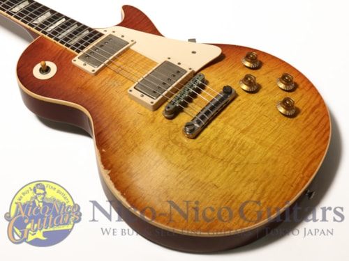 Gibson Custom Shop Billy Gibbons Pearly Gates Les Paul Signed & Aged Billy Gibbons Burst