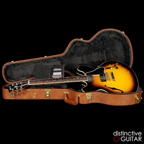 Gibson Custom Shop ES-335 Memphis Sunset Burst, Excellent, Original Hard, $2,499.00
