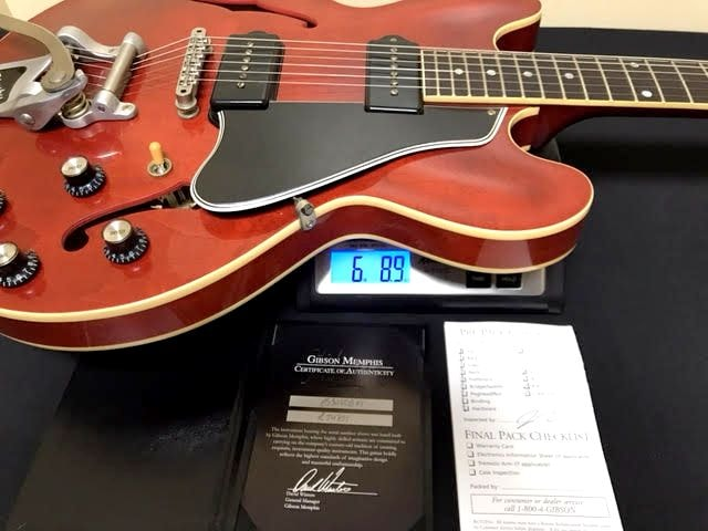 Gibson Custom Shop ES30VCBN1 ES 330 Reissue Classic Cherry, Very Good, Call For Price!