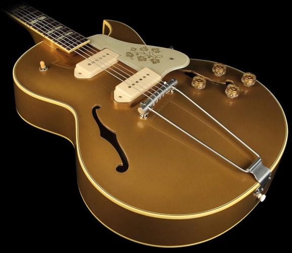 Gibson Custom Shop Gibson Memphis '52 ES-295 Electric Guitar Bulion Gold Bulion Gold, Excellent,