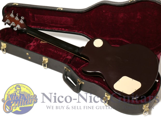 Gibson Custom Shop Jeff Beck Les Paul VOS Oxblood