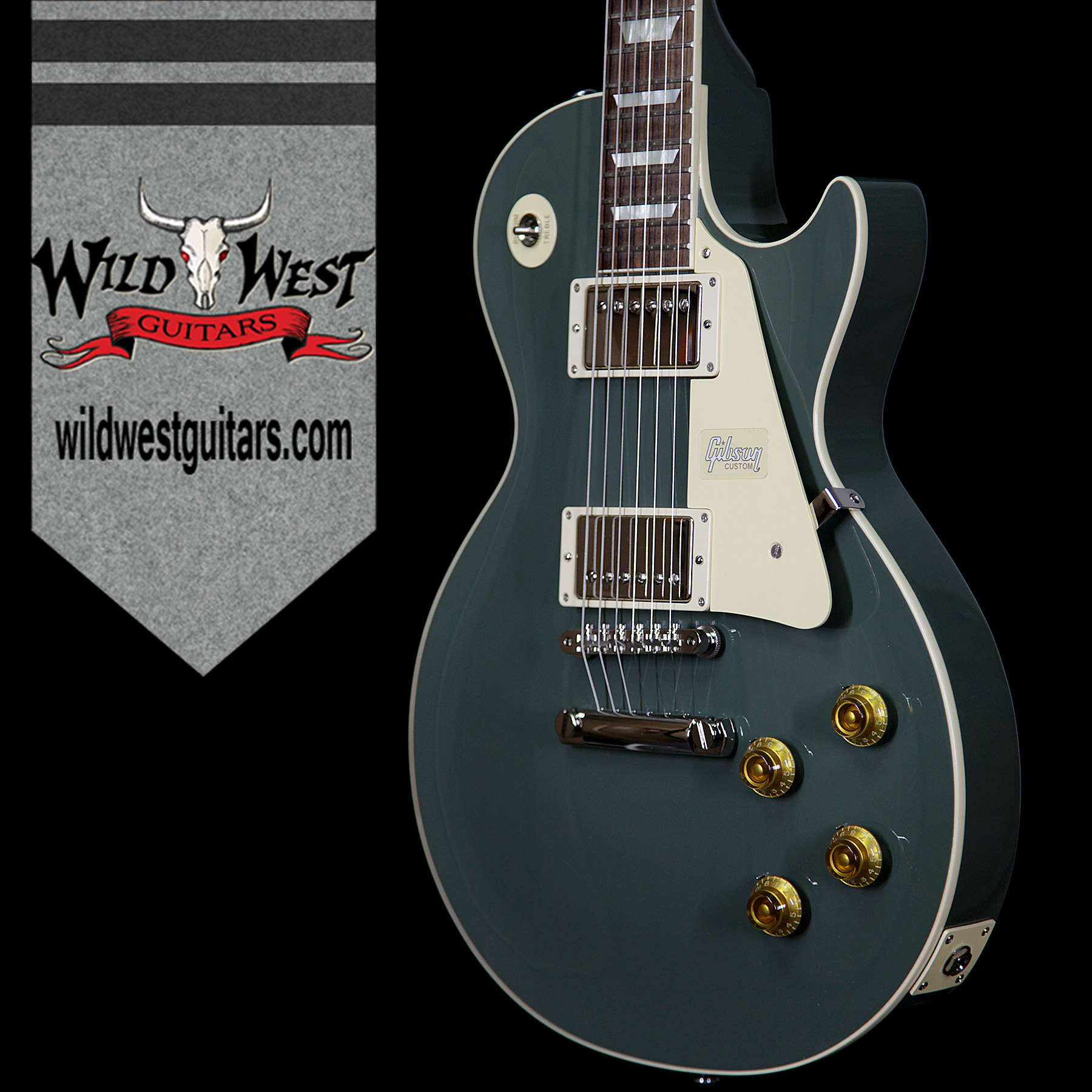 Gibson Custom Shop Les Paul Standard Oxford Grey 840 Pounds Wired Toggle Switch 3 Way Switchcraft Nickel Usa 4 Guitars Electric Solid Body Wild West